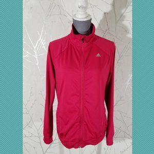 Adidas Climalite Hot Pink Full Zip Track Jacket
